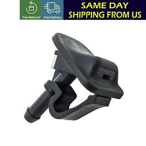 Front Windshield Washer Nozzle For 02 12 Jeep Wrangler 02 06 Jeep Tj 55156728ab