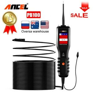 12v 24v Power Probe Automotive Circuit Tester Powerscan Voltage Current Tester