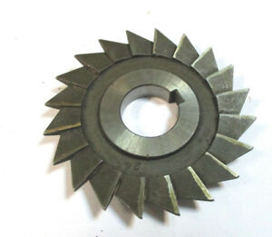 Angle Milling Cutter Hss D 80 X9x22 24 With Eckradius R ca 1 From Wmw Pws