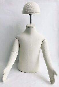 Baby Size Cloth 1 2 Body Posable Dress Form Mannequin 8 Months New Condition