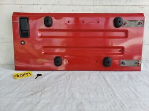 1997 2002 Jeep Wrangler Tj Tailgate Trunk Door Flame Red Pr4 With Key
