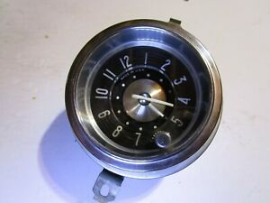 1950 1951 1952 1953 New Haven Automotive Clock Fits Buick Serviced
