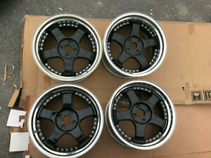 Jdm 17 Ssr Professor Wheels Rim 4x100 Staggered For Civic Dc2 Eg6 E30 Sp1r Sp1