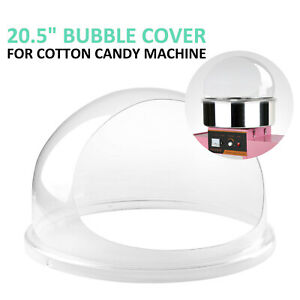 Candy Floss Machine Cover Dome Opening Cotton Candy Maker Clear Bubble 20 5 Us