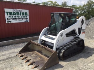 2011 Bobcat T190 Compact Track Skid Steer Loader W Cab Only 2400hrs