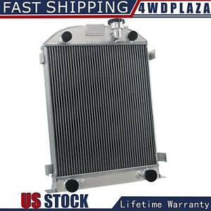 3row Radiator For 1937 1938 Ford Flathead Engine Flat Head Stock Height 37 38 V8
