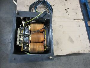Cincinnati Arrow 500 Cnc Vertical Mill Power Transformer 208v 460v