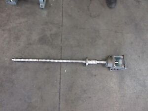 2004 Cincinnati Lamb Cfv800 Cnc Vertical Mill 42 Inch Ballscrew Ball Screw