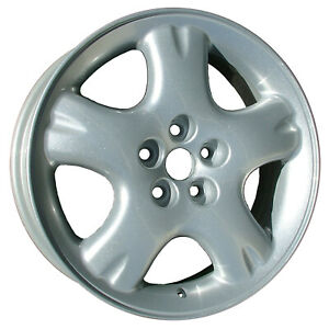 02160 New Compatible 16in Silver Aluminum Wheel Fits 2001 02 Chrysler Pt Cruiser