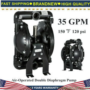 Qby4 25l Air operated Double Diaphragm Pump 35 Gpm Aluminum Max 120psi 1 Inch Us