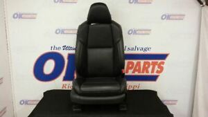 16 Nissan Maxima Front Right Passenger Power Seat Black Leather