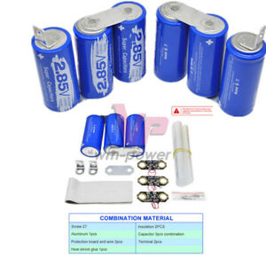 17v 566f Diy Farad Capacitor Electrical Super Capacity 2 85v 3000f 3pcs 3pcs