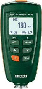 Extech Cg204 Coating Thickness Tester New