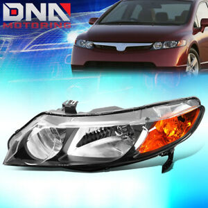 For 2006 2011 Honda Civic Sedan Factory Style Headlight Lamp Assembly Left Lh