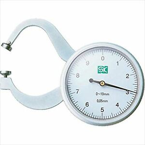 Dial Calliper For Measuring Paper Or Leather Thickness Dcg mg1 Japan Made F s