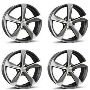 4 Borbet Wheels S 8 0x18 Et35 5x112 Grappm For Audi A3 A4 A5 A6 A7 A8 Q3 Rs3 S3