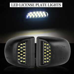 Led License Plate Lights Lamp For 1999 2013 Chevy Silverado Avalanche Bright Smd