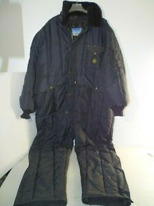 Men s Refrigiwear Iron tuff Insulated Coveralls 50f Extreme Cold Protection 4xl