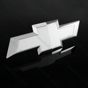 For 2015 2017 Chevy Chevrolet Colorado Front Grill Bowtie Emblem White New 1pcs