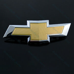 New Front Grill Grille Bowtie Emblem Gold For 2017 2018 Chevy Chevrolet Malibu