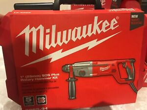 Milwaukee 5262 21 1 Sds Plus Rotary Hammer Kit Brand New