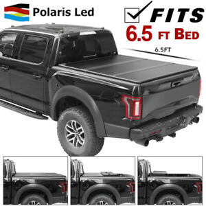 Tonneau Cover For Chevy Silverado 1500 2500 3500 6 5ft Solid Hard Fold Truck Bed