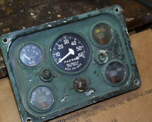 Used Military Dash Instrument Panel Dash Panel With Gauges M151 M151a1 M151a2