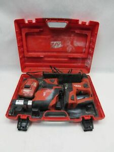 Hilti Cordless Rotary Hammer Drill Te 4 a18 W Dust Collection Te Drs 4 a