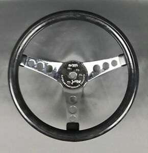 Vintage Superior 500 Steering Wheel 12 Hot Rod Rat Rod Chevy Ford Mopar Gasser