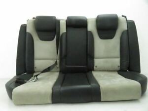 2002 2008 Audi A4 S4 Rear Seat Complete Set Recaro Leather Suede Seats Alcantra