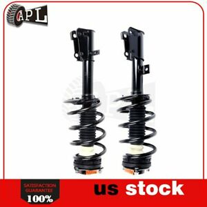 For Dodge Journey 2009 2010 2011 2012 2013 Front Pair Complete Struts W Springs