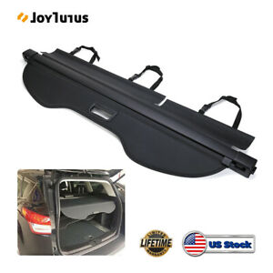 Retractable Trunk Luggage Shade Black Cargo Cover Blind For Ford Escape 2013 19