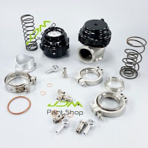 50mm Bov 44mm External Wastegate Combo Turbo Blow Off Valve And Waste Gate Black