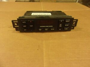 1993 1996 Buick Roadmaster Digital A c Heater Control Unit Works Great