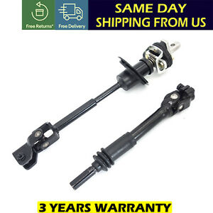 Intermediate Lower Steering Column Shaft Set For 2006 2010 Hummer H3 H3t Us