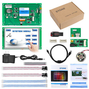 Stone 7 0 Inch Hmi Tft Lcd Display Module With Serial Interface software