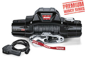 Warn Zeon 8 S Spydura Synthetic Rope 8 000lbs Premium Series Winch 89305