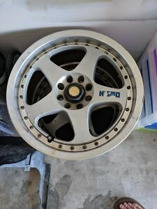 Two Nismo Lmgt2 Wheels
