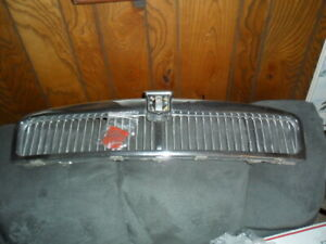 Mgb Grille 62 69 With New Red Badge Grill Mgb Chrome