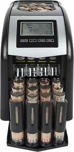 Digital Coin Counter 4 Row Counting Electric Led Display Technology 4 Row Money