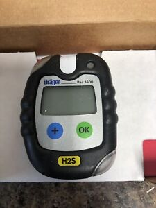 Drager Pac 3500 Single Gas Monitor 4543958 H2s Draeger