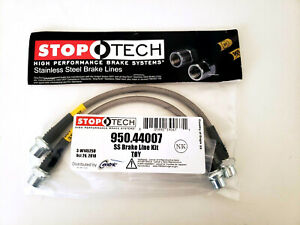 Stoptech Stainless Steel Front Brake Lines For 00 06 Toyota Tundra All Models