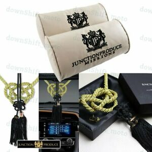Set Junction Produce Vip Car Neck Rest Pillow Headrest Gb Charm Kin Tsuna Rope