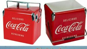 NEW-COCA COLA ICE CHEST/COOLER BOX-BRAND NEW WITH PAPERS.NICE COLLECTIBLE