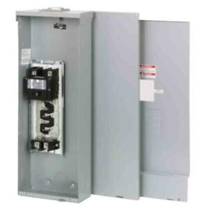 Br 200 Amp 4 space 8 circuit Outdoor Main Breaker Loadcenter With Cover