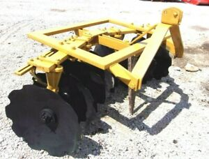 Used Athens 5 5 Ft 3 Pt Lift Bog Disc Harrow free 1000 Mile Shipping From Ky