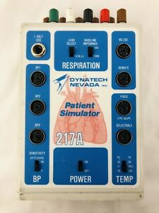 Dynatech Nevada 217a Multiparameter Patient Simulator Ecg Free Shipping