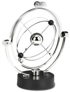 Perpetual Motion Desk Sculpture Toy Kinetic Art Galaxy Magnetic Mobile