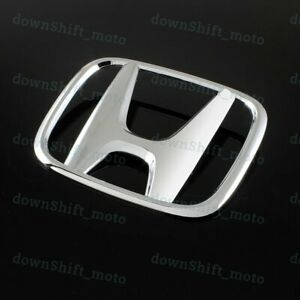 Chrome Rear Trunk H Emblem For 2008 2009 2010 2011 2012 Honda Accord Coupe 2dr