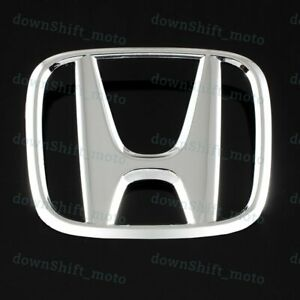 New Front Grill H Emblem For Honda Accord 2008 2009 2010 2011 2012 2013 2014 X1